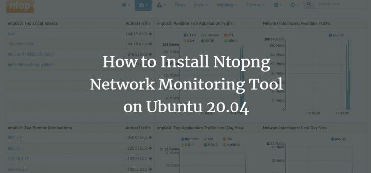 Ubuntu Network Monitoring