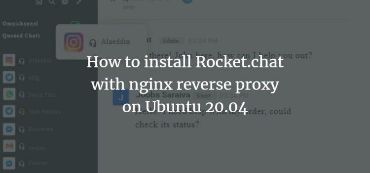 Rocket.chat on Ubuntu