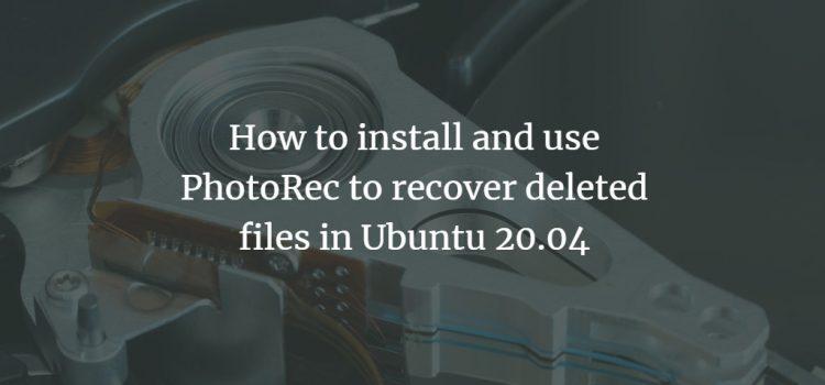 Ubuntu Free File Recovery
