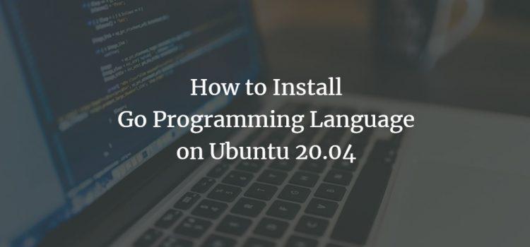 Ubuntu Go Programming Language