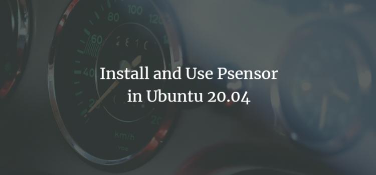 Ubuntu Fan and Voltage Sensors