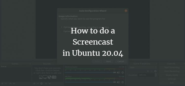 Ubuntu Screencast