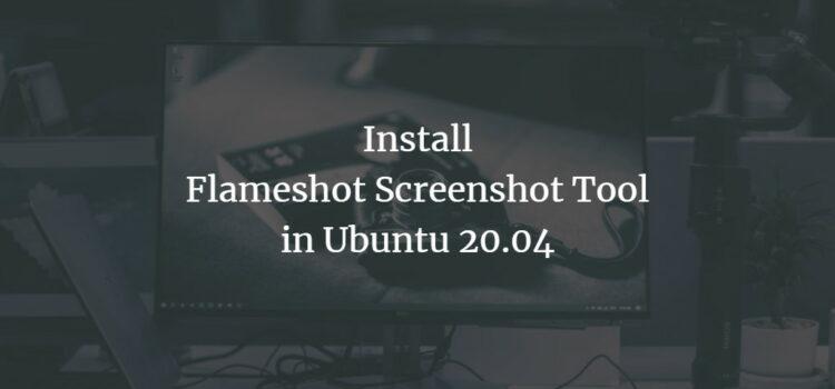 Ubuntu Screenshot Software