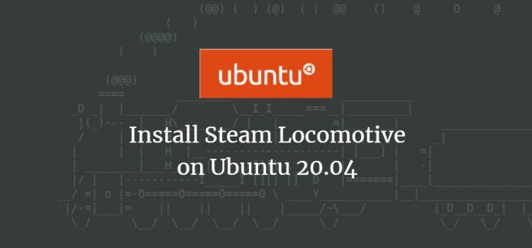 Steam Locomotive SL command on Ubuntu