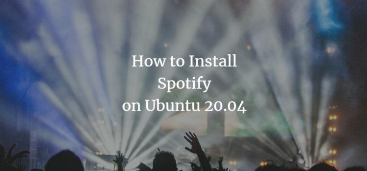 Ubuntu Spotify