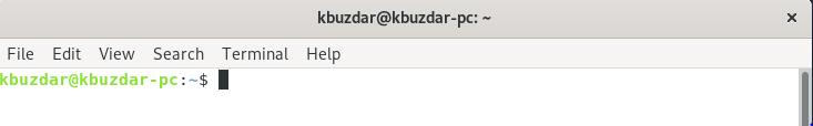 Debian Command Line