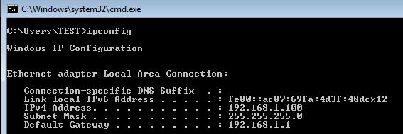 Testing DHCP Server