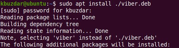 Install Viber on Debian