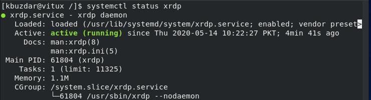 Check RDP Status