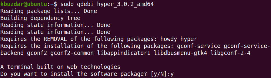 Install Hyper