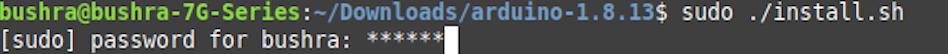 Run the installer script