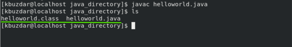 Compile Java file