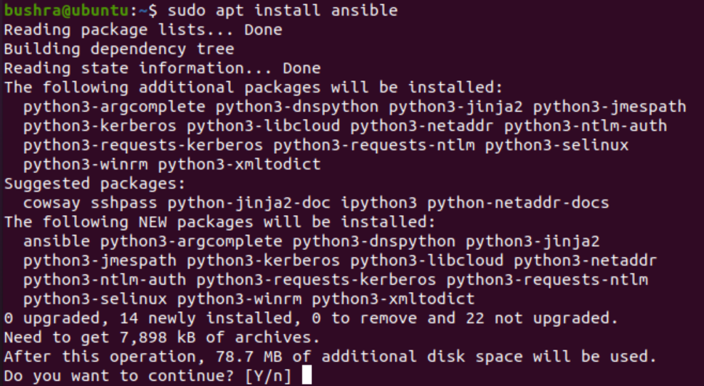 Install Ansible
