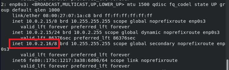 Check IP addresses