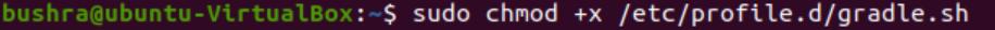 Make script executable
