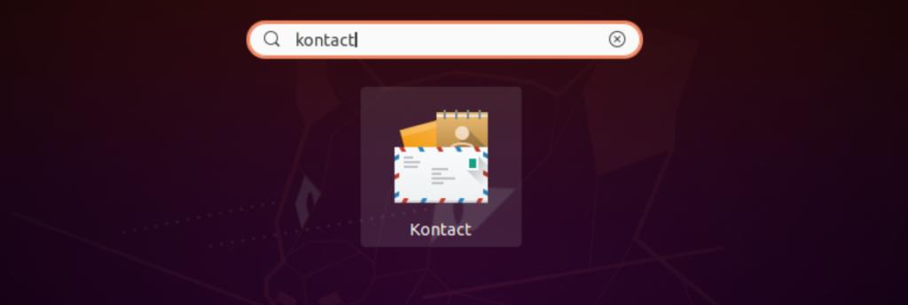 Kontact app icon