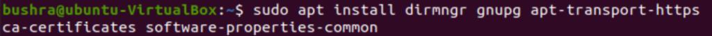 Install Mono dependencies
