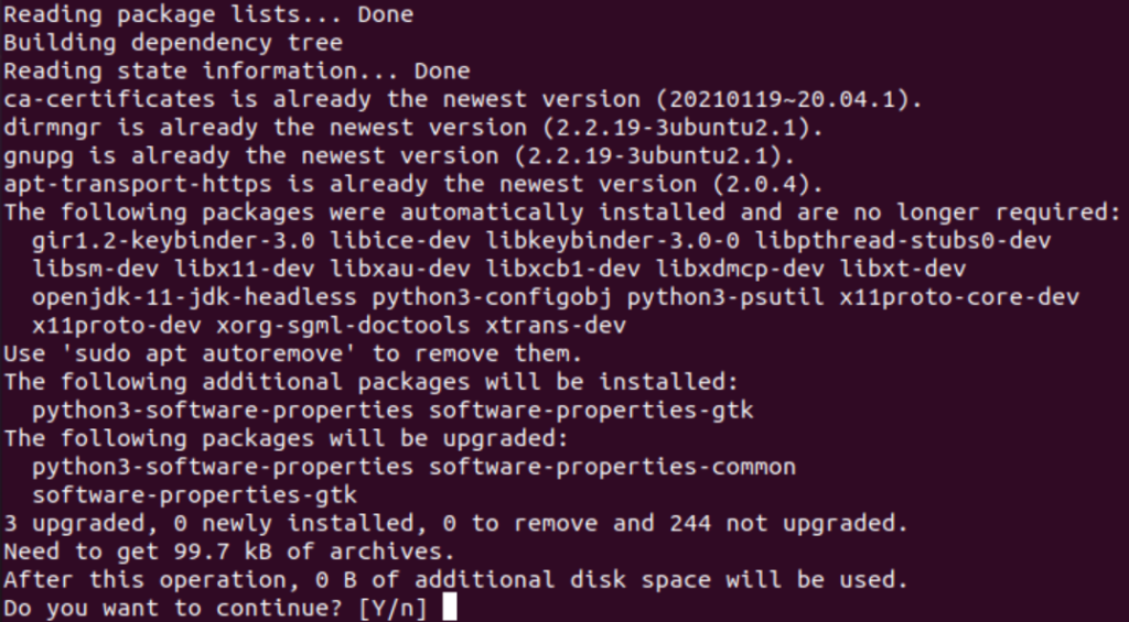 Installing Linux packages