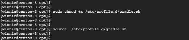 set PATH variable for Gradle