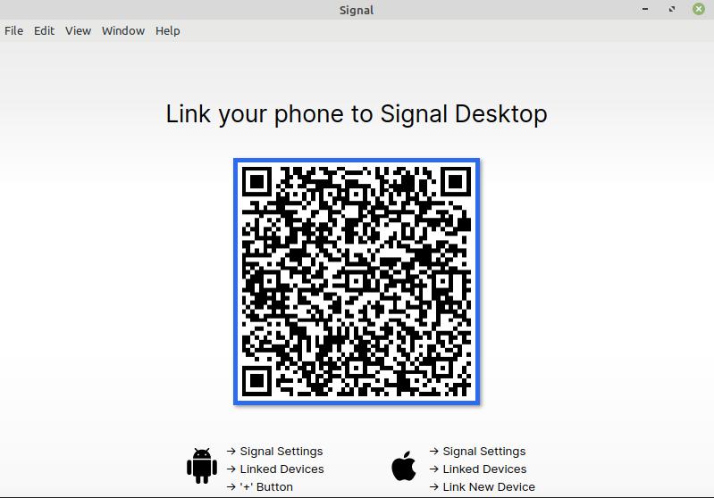 Signal Messenger on Linux Mint and Ubuntu