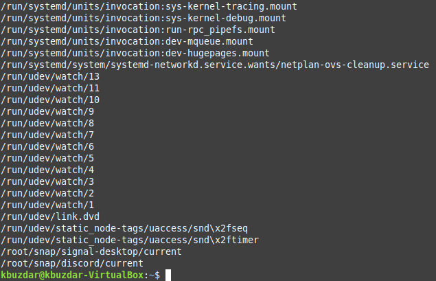Use find command to get a list of all symbolic links