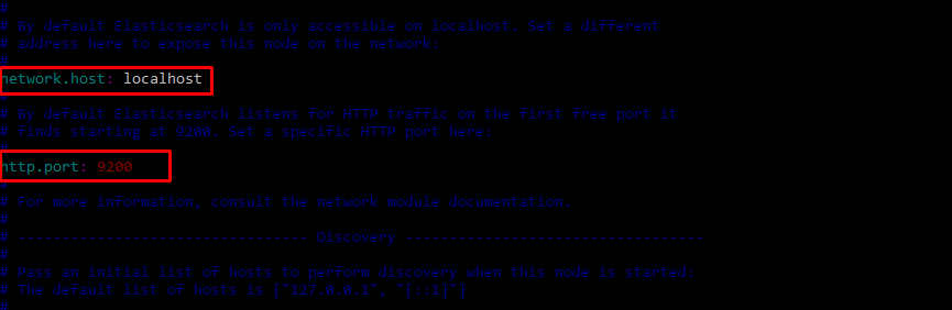 Configure Elasticsearch