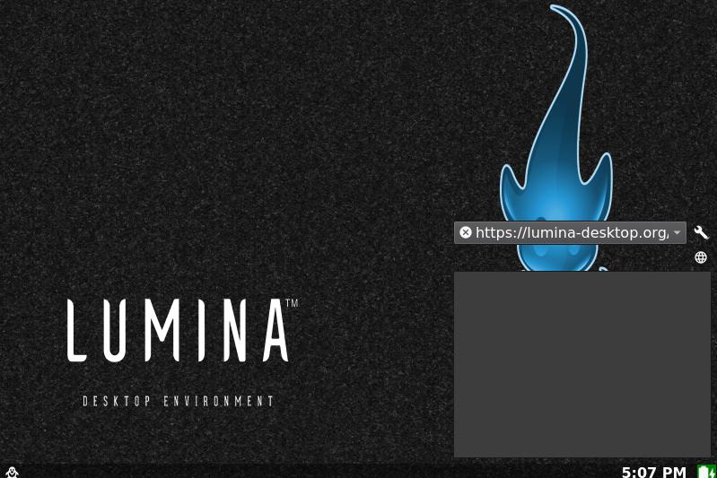 Lumina Desktop Environment on Ubuntu Linux