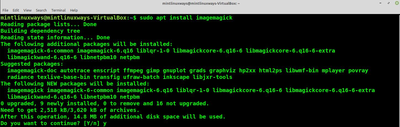 Install ImageMagick