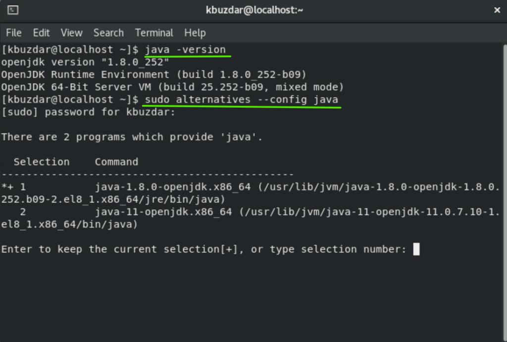 Check Java Version