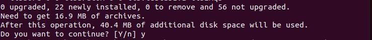 Continue install