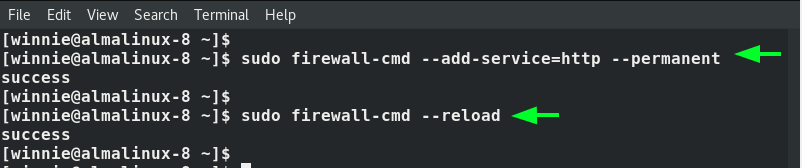 Configure the Firewall