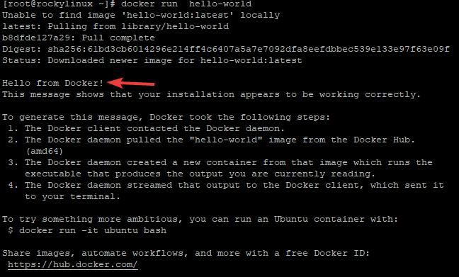 Test Docker