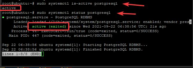Install PostgreSQL on Ubuntu