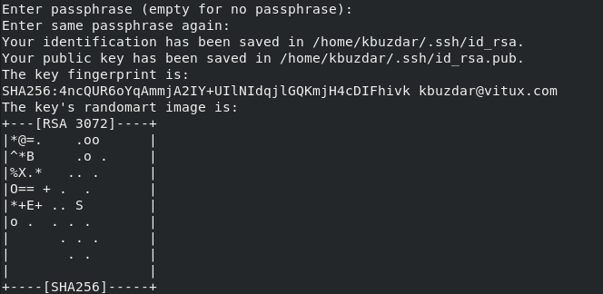 Generating SHA256 key