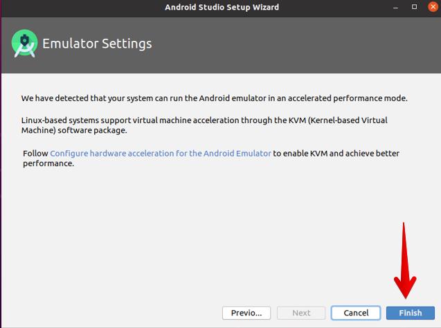Emulator settings