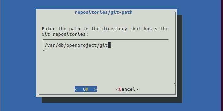 GIT repository path