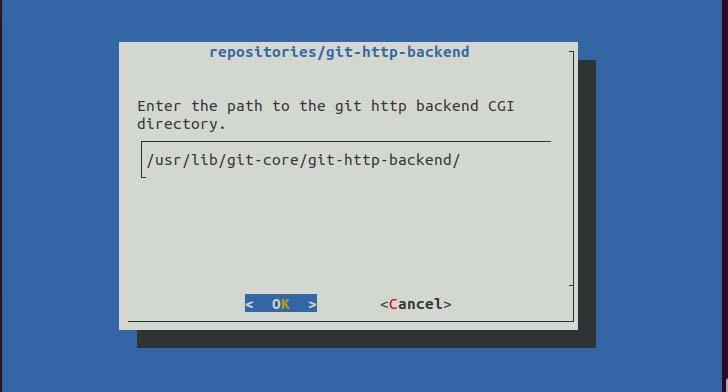 GIT http backend