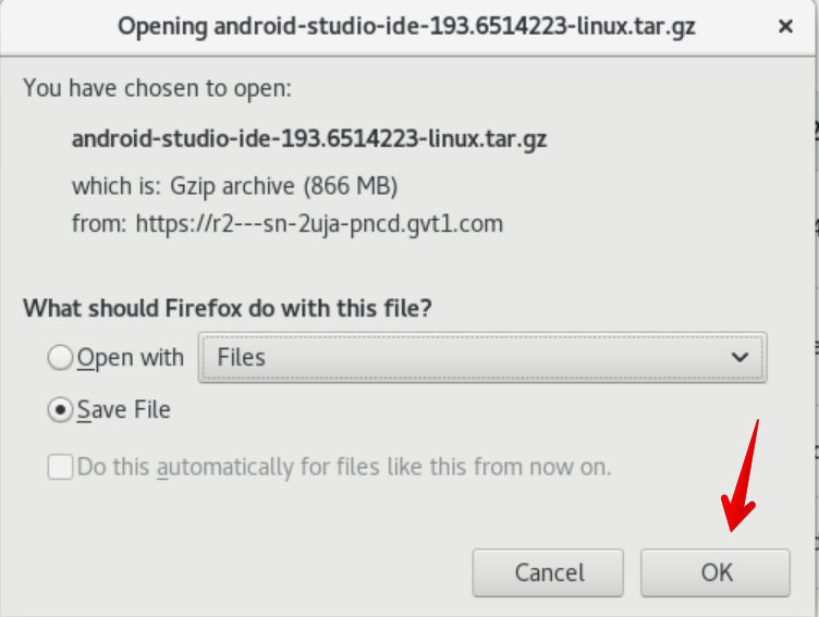Save file on disk
