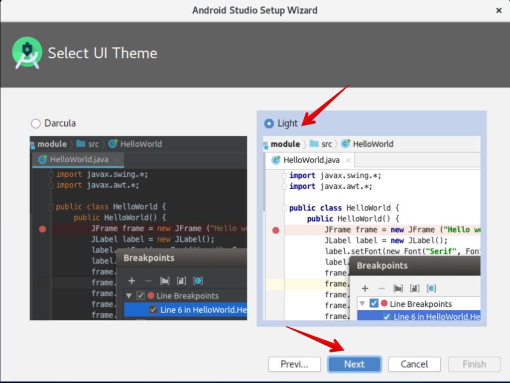 Android Studio Theme