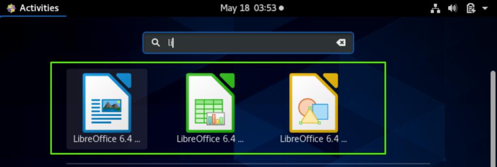 Launch LibreOffice