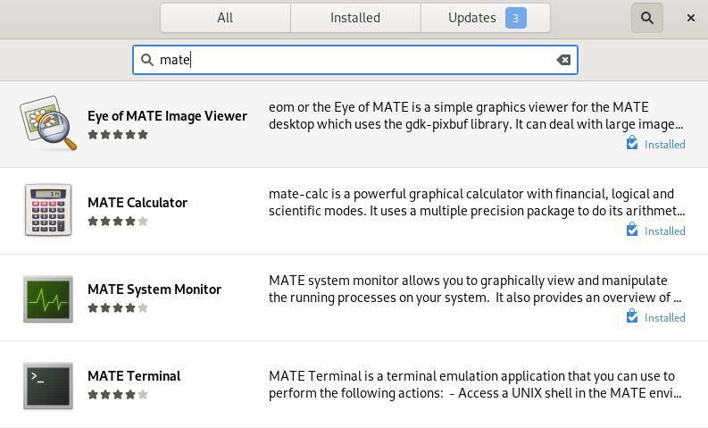 Mate Desktop utilities